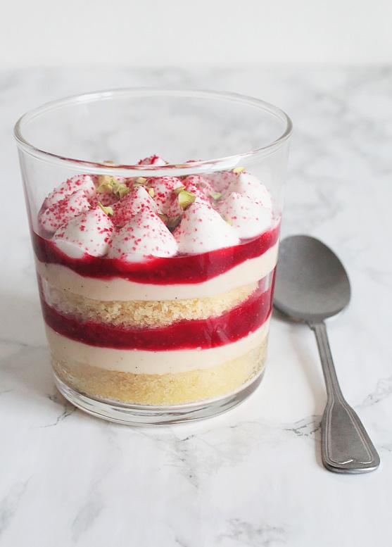 Trifle in een glaasje