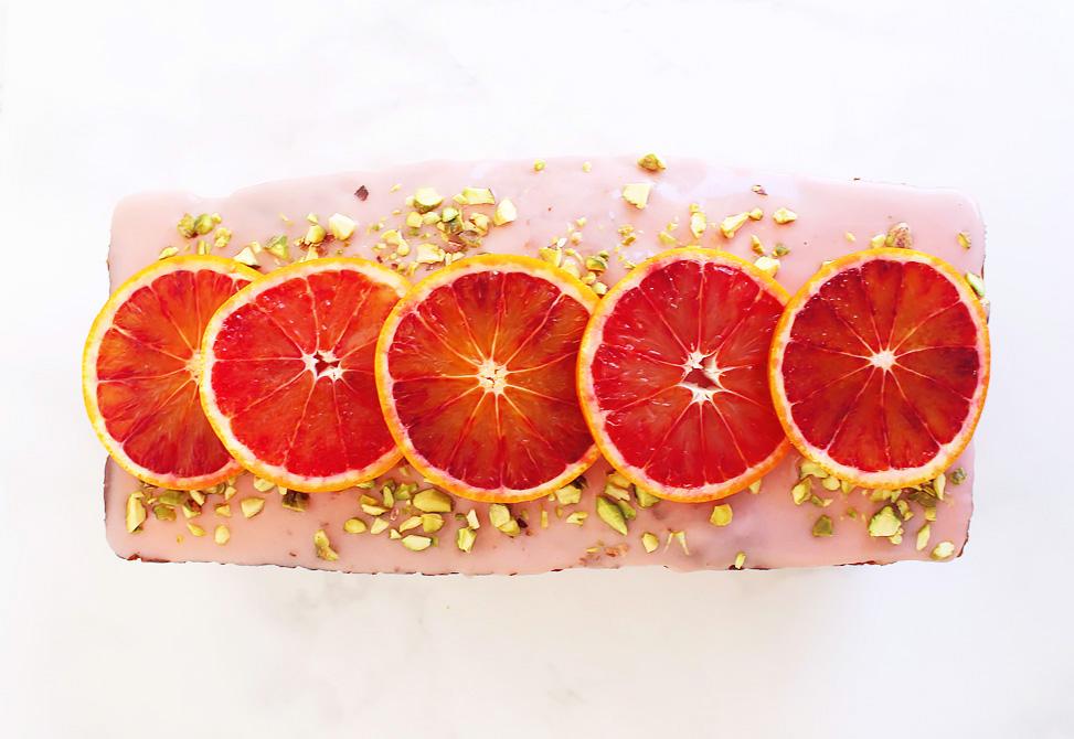 Bloedsinaasappel cake